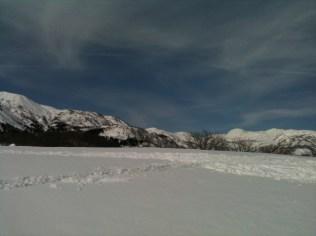 07ほとんど踏み跡の無い雪原