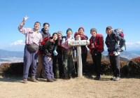 2008年2月16日 2月定例山行A  満観峰・花沢山(静岡県)