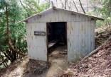 22 北尾根の避難小屋。