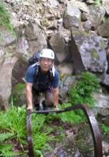 八池谷遡行~八つ淵の滝(比良) (2)