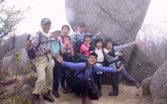 2001年4月29日(日) 自主山行 仙ヶ岳(961m)南尾根(鈴鹿)