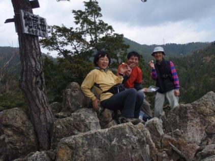 31地蔵岳ピーク。