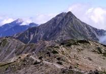 17 とても雄大な北岳