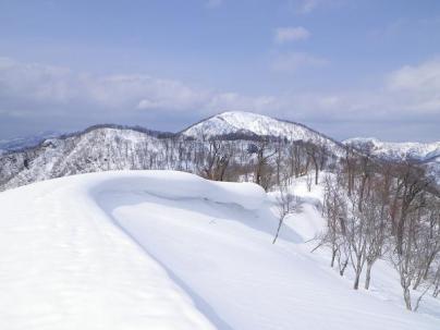 16.美しい雪庇