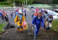 2008年9月21日 清掃山行  山星山・高根山(定光寺自然休養林・愛知県瀬戸市)