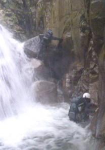 八池谷遡行~八つ淵の滝(比良) (3)