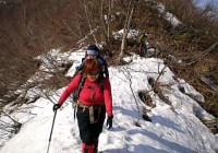 2008年3月16日 定例山行B  土蔵岳・大ダワ(奥美濃)