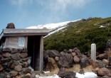八合目避難小屋(2530m)