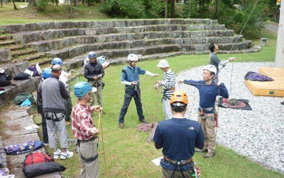 2011年10月1日(土)~2日(日) 名古屋山岳同志会ロープワークセミナー