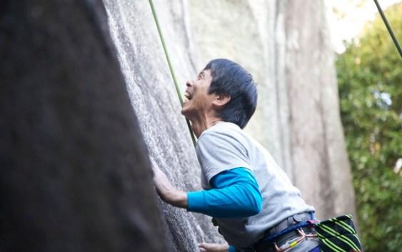2011年11月13日 豊田 天ヶ峰 クライミング