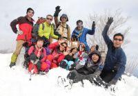 2012年2月5日 自主山行 高賀山