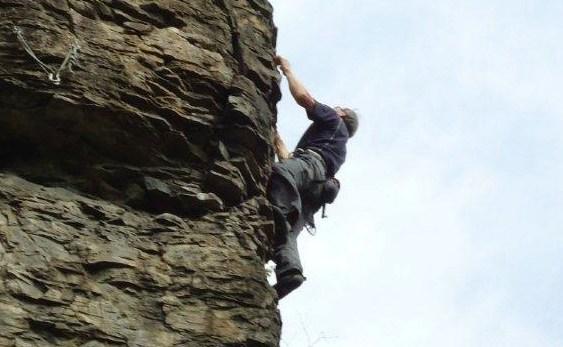 2012年5月6日 信州 姥捨山 自主山行 クライミング