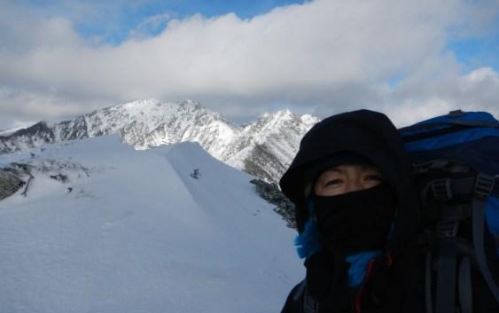 2012年11月24日(土)~25日(日)越百山 (中央アルプス)