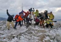 2012年12月9日(日)定例山行 霊仙山(1096m)