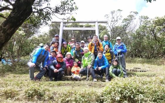 2013年4月21日(日) 定例山行・入道ヶ岳 【新入会員歓迎山行】