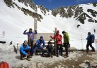 2013年5月19日(日) 中央アルプス三ノ沢岳(2846m)~宝剣岳(2931m)