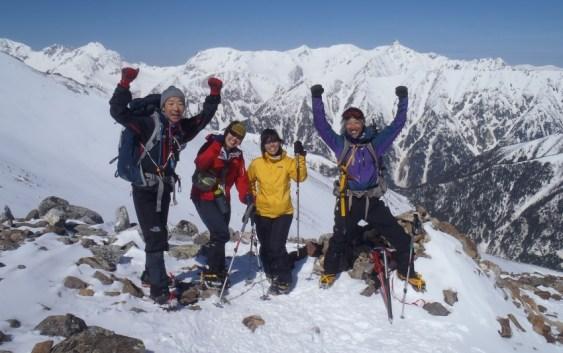 2013年5月4日〜5日 常念岳:2867m 自主山行