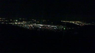 塔の岳から見る厚木の夜景