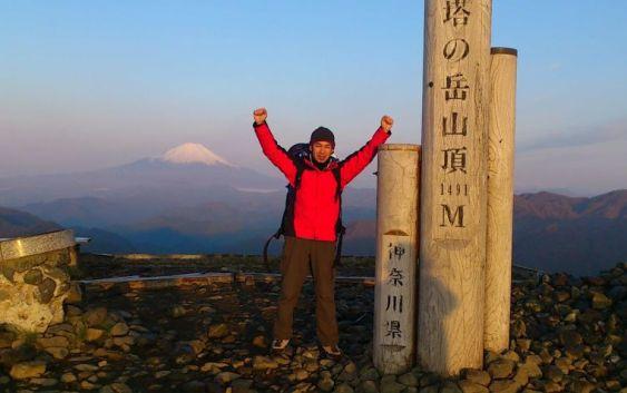2013年5月4日塔ノ岳~大山縦走