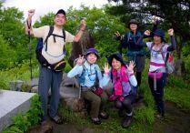 05 小八郎岳山頂にて