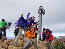 3つ目のピーク 赤岳