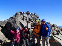 7つ目のピーク 根石岳