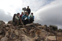 33 女峰山山頂