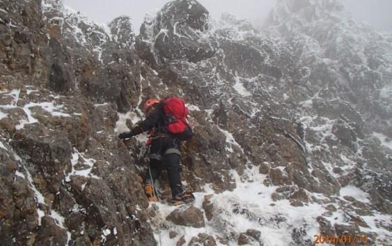 2014年1月11日〜13日 八ヶ岳 赤岳主稜 & 石尊稜 おまけアイスキャンディー