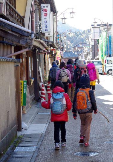 60 下山後は足助の町並み散策