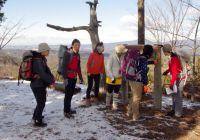 2014年1月19日(日) 1月定例山行 黍生(374.5m)、飯盛山(254m)(愛知県旧足助町)