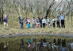 幻の池 センコウ池にて。