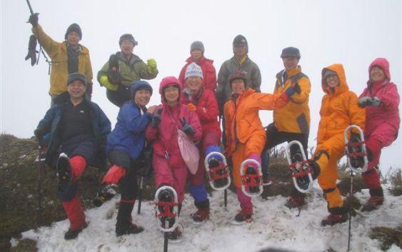 2007年2月17日(日)定例山行A  御池岳・ボタンブチ(鈴鹿)