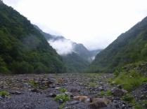 戸台川 河原