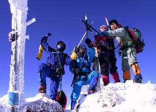2002年 冬合宿 八ヶ岳 (硫黄岳・赤岳)