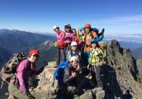 2015年夏合宿C 奥穂高岳(3190m)