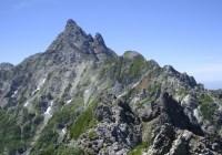 2015年夏合宿A 槍ヶ岳3180m(北鎌尾根)