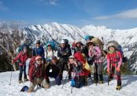 春合宿 鹿島槍ヶ岳・爺が岳(2889m・2670m)