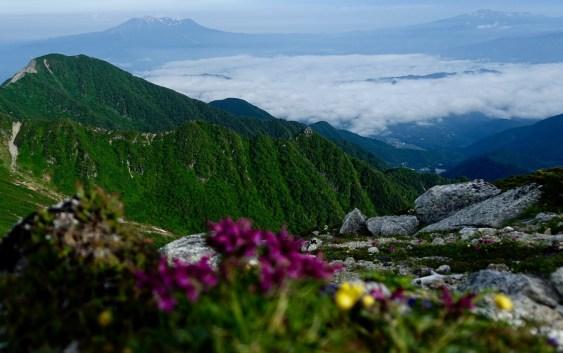 木曽駒ヶ岳(2,956.3m) 木曽駒周遊コース