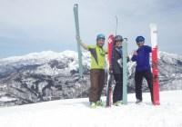 木無山(1328.5m)山スキー