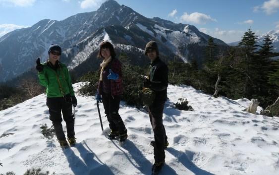 塩見岳(3,052m)