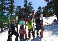 乗鞍岳(3,026m)山スキー