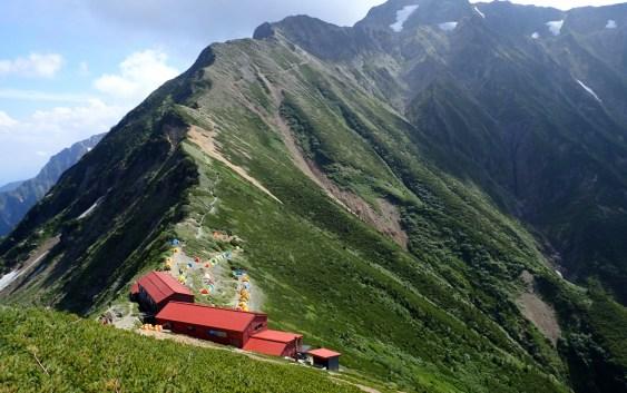 唐松岳(2,696m)~五竜岳(2,814m)