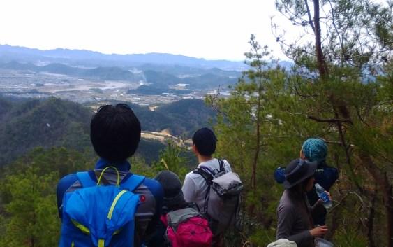 誕生山(501.7m)・天王山(537.8m)