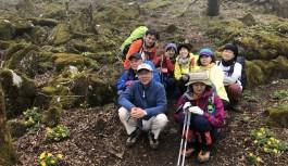 鍋尻山(838m) 自然観察会
