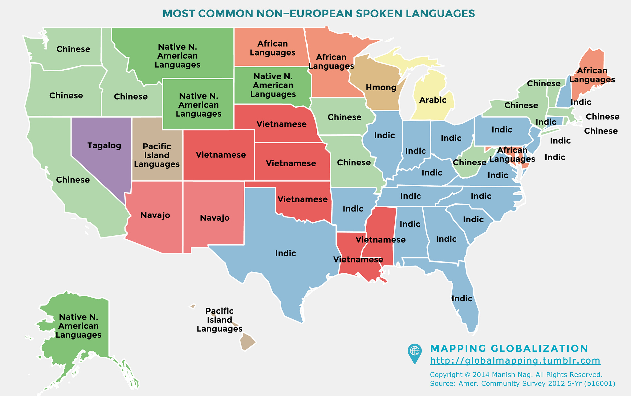 Most Commonly Spoken South Asian Languages In North
