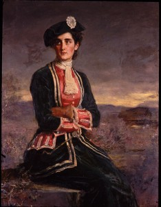 Di Vernon, as depicted by Sir John Millais in 1880