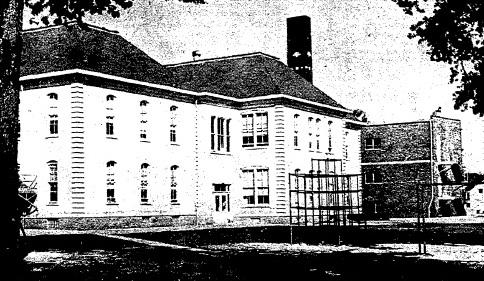 Stuart School in 1963 (SJR photo)