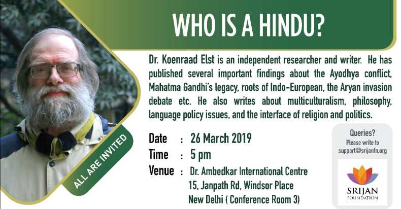 Koenraad Elst - Who is a Hindu
