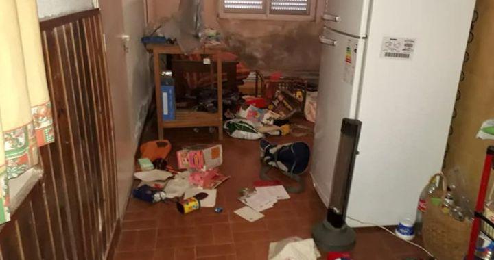 San Genaro: Ladrones ingresaron en una vivienda y destrozaron todo