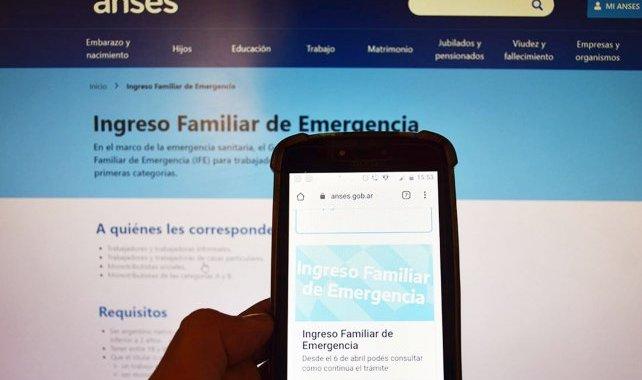 El Ingreso Familiar de Emergencia se pagará a partir del 21 de abril